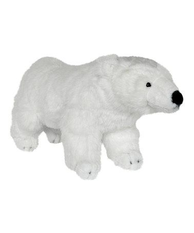 Love This White Polar Bear Plush Toy By Curtain Critters On Zulily Zulilyfinds For The Home
