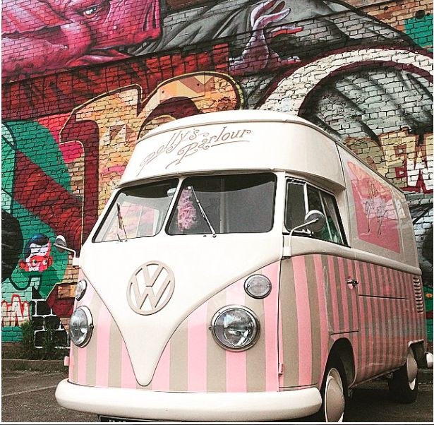 Florence The Vintage Ice Cream Van U0026 Graffiti Queen #vw #vdub #vdubloveu2026