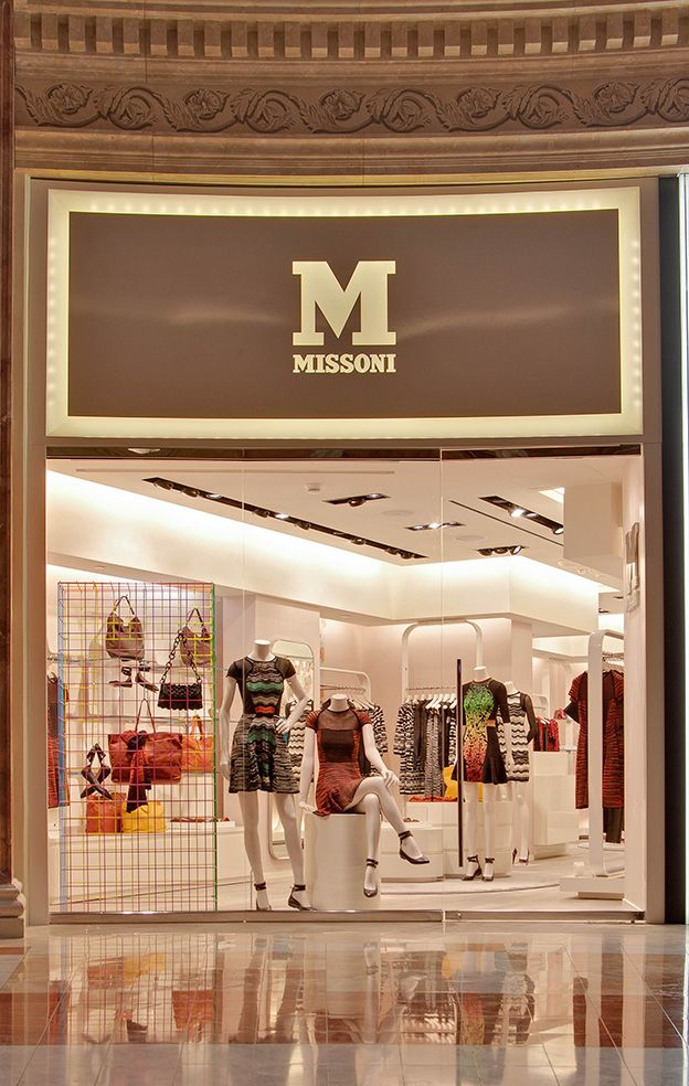 #MMissoni Boutique at Forum Shop at Caesar | #LasVegas | Fall 2013 Collection