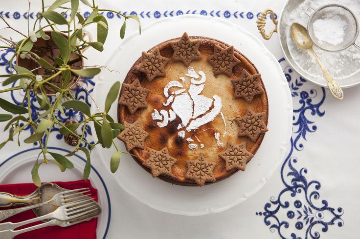 #sernik piernikowy. #delektujemy #cheesecake #piernik #gingerbread