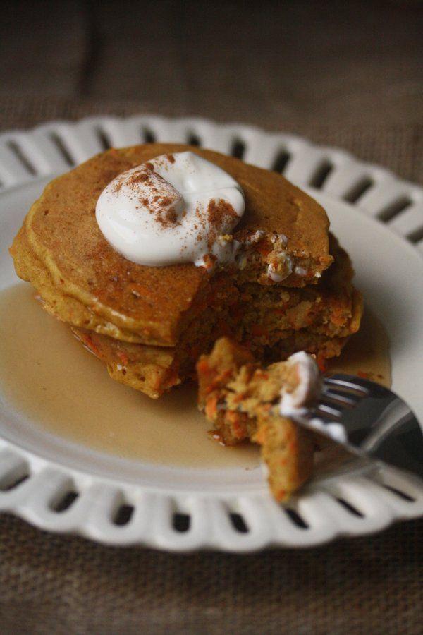 Carrot Cake Pancakes Recipe