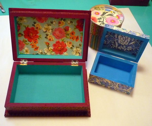 59 best pintura images on pinterest painted boxes paint - Cajas de madera pintadas a mano ...