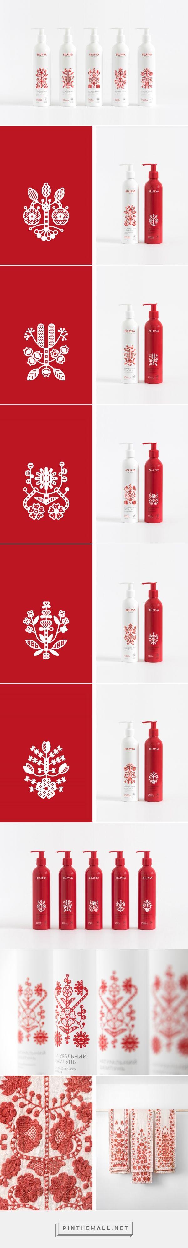 Brun'ka cosmetics packaging design by Yurko Gutsulyak - http://www.packagingoftheworld.com/2017/03/brunka.html