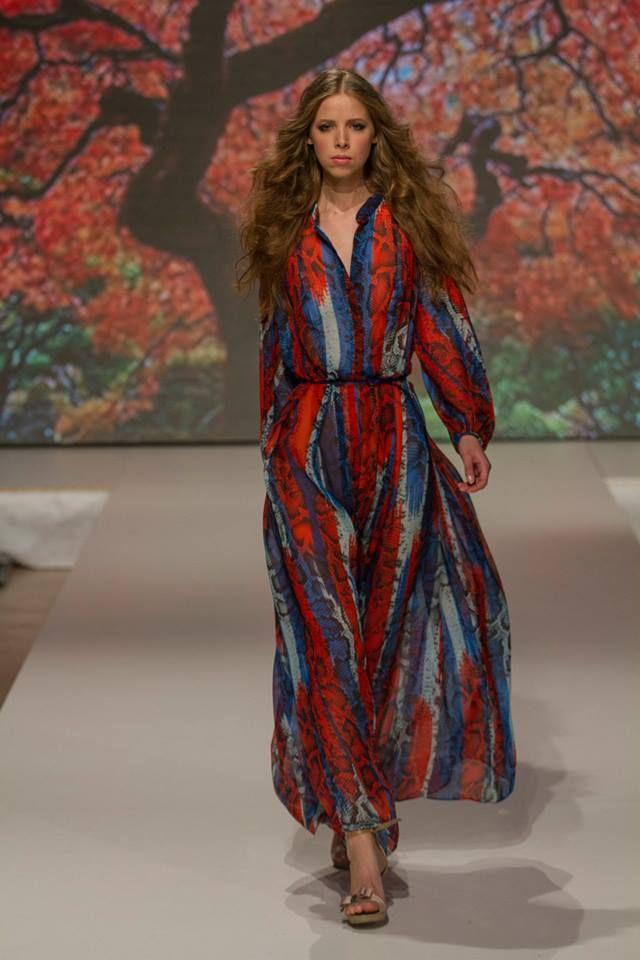 Collection of Izabela Komjati presented during Fashion LIVE! 2014