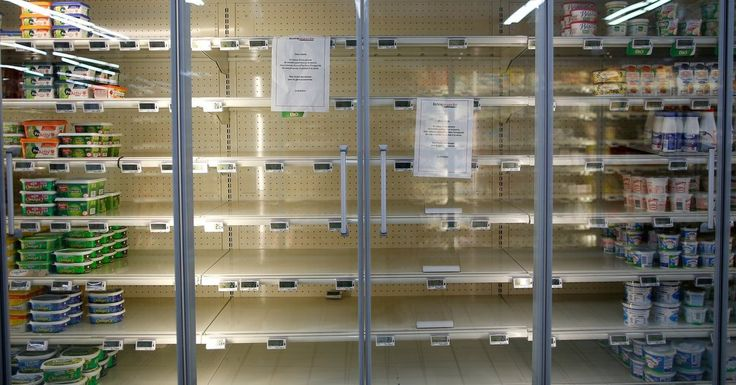 A price spike has led to sporadic shortages in one of the world's most butter-loving countries, prompting both mock panic and real anxiety.