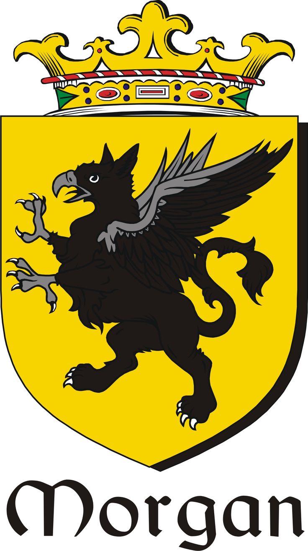 Morgan Family Crest / Irish Coat of Arms