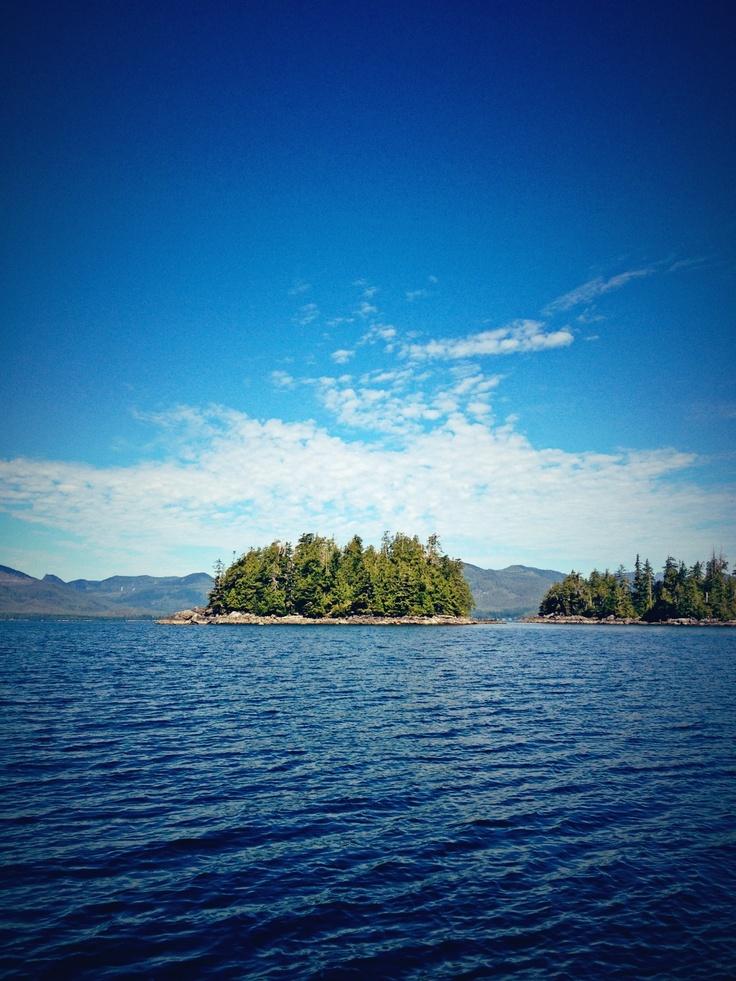 Broken Islands   Vancouver Island