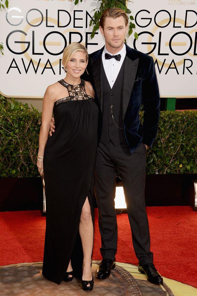 Elsa Pataky, de Paul K, con su marido, Chris Hemsworth.