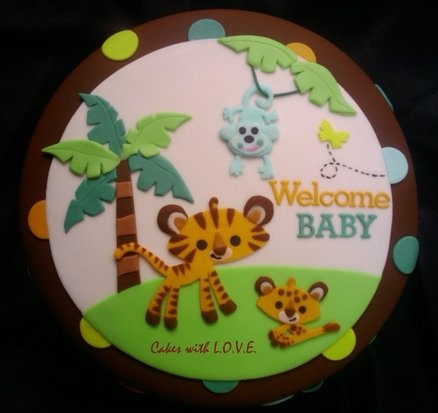 Jungle Babyshower By Fisher Price