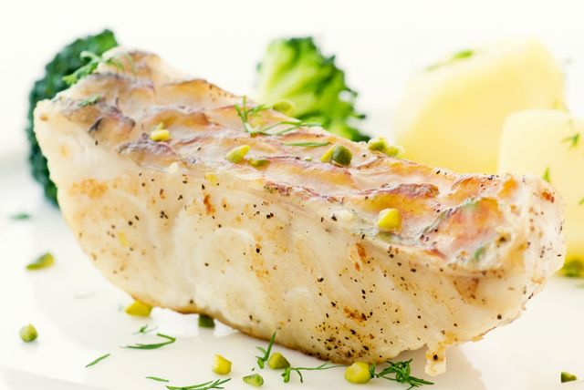 Baked grouper with whole grain dijon mustard recipe