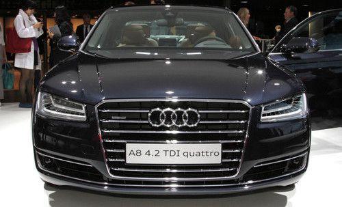 2016 Audi A8 - celebrities