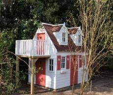 Grote speelhuizen - The Playhouse Company - boomhut, kinderspeelhuizen, kindertuinhuizen, speelgoedhuis, speelkasteel, houten speelhuis