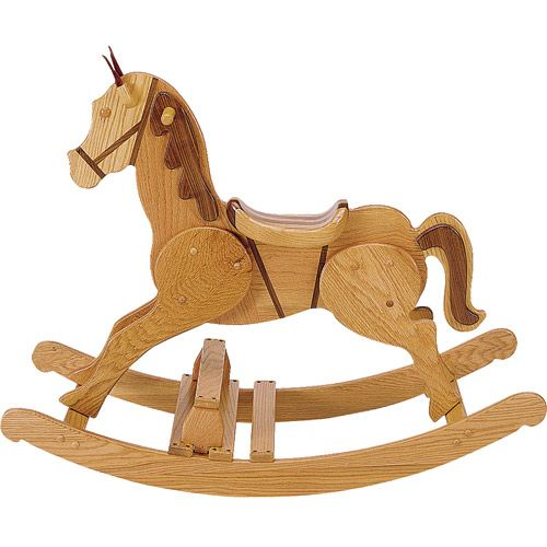 Wooden Rocking Horse Plan Toys - WoodWorking Projects & Plans