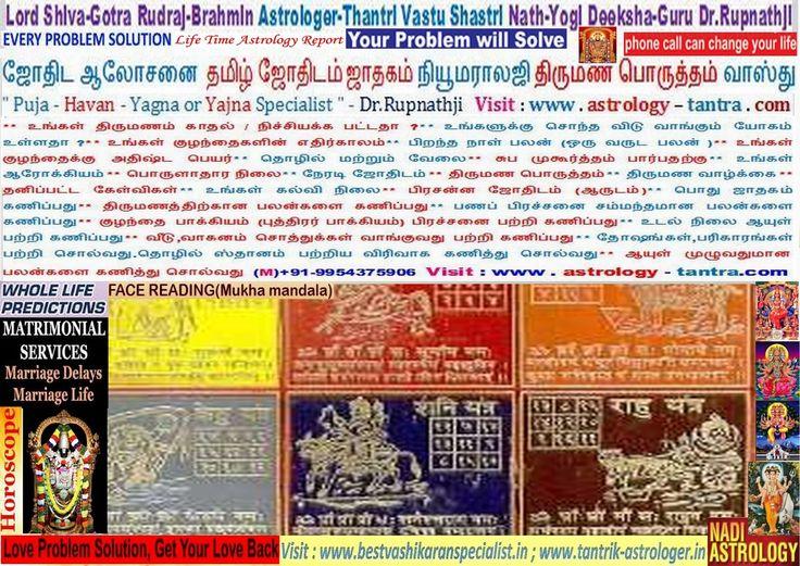 Kanniyakumari Nagercoil Krishnagiri Madurai Astrologer-Thantri Deeksha-Guru
