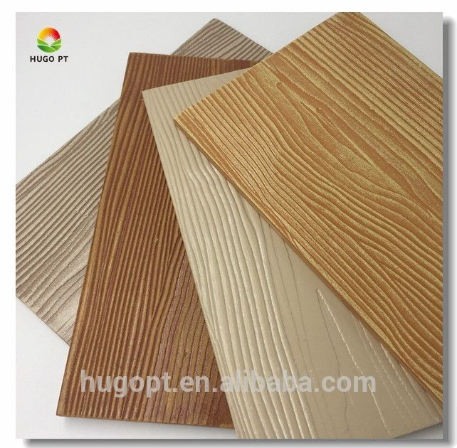Exterior Decor Wall Siding Panel Fiber Cement Board