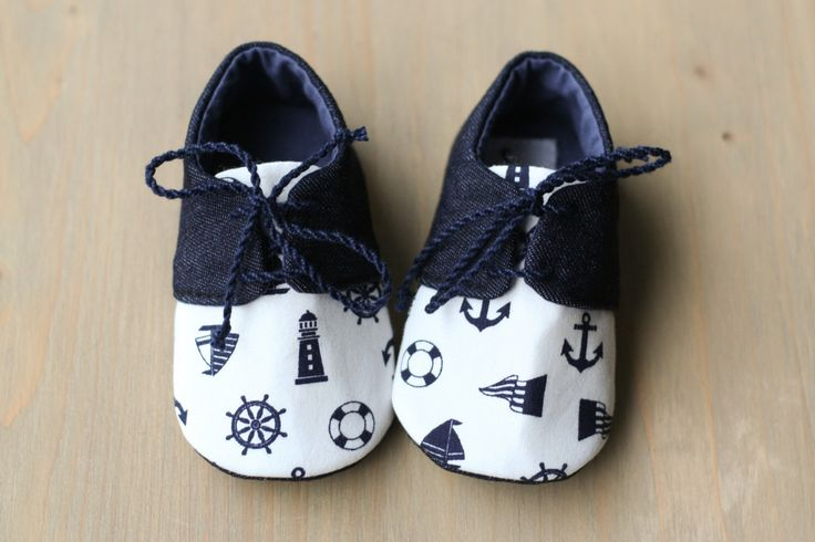 Baby boy denim shoes, nautical baby shoes, anchor baby shower gift, summer shoes, toddler shoes, blue baby outfit, newborn gift, photo prop by MartBabyAccessories on Etsy https://www.etsy.com/listing/178682386/baby-boy-denim-shoes-nautical-baby-shoes