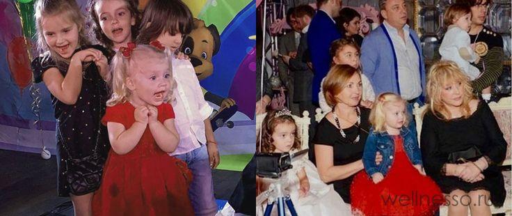 Фото с третьего дня рождения детей Пугачевой