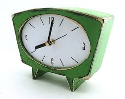 Image result for sixties inspired clock