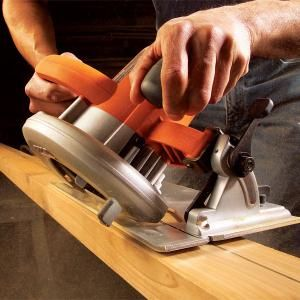 Making Circular Saw Cuts-if you don't own one of these you definitely need to. I have used it countless times. Once you get over the fear of it, it's a very helpful tool.