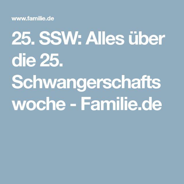 25. SSW: Alles über die 25. Schwangerschaftswoche - Familie.de