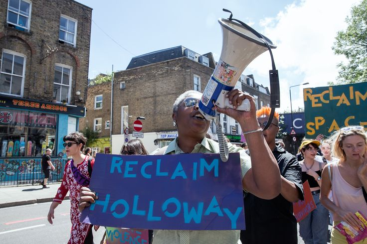 Feminist Activists Occupy Women's Prison After 10-Hour Standoff with Police. Holloway Prison was once home to suffragettes and serial killers. Now Sisters Uncut have occupied the former jail for the common good.