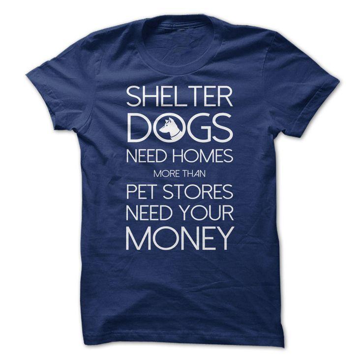 Shelter Dogs 1 via I Heart Dogs (dark grey)