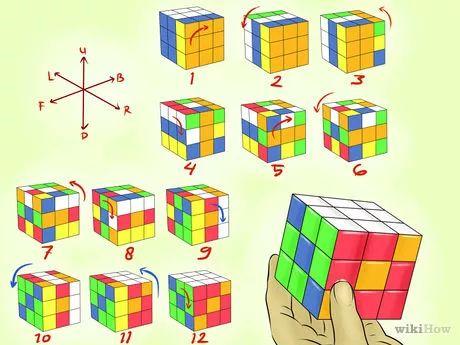 Gambar berjudul Make Awesome Rubik's Cube Patterns Step 6