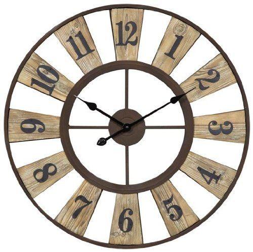 Cooper Classics Minden Clock  #Classics #Clock #Cooper #Minden #RusticMantelClock The Rustic Clock