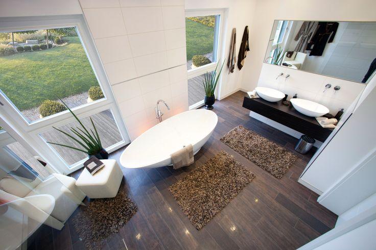 Badewanne mit Ausblick im ELK Passivhaus 220