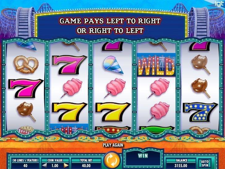 Cash Coaster Igt slots, Free slots, Slot