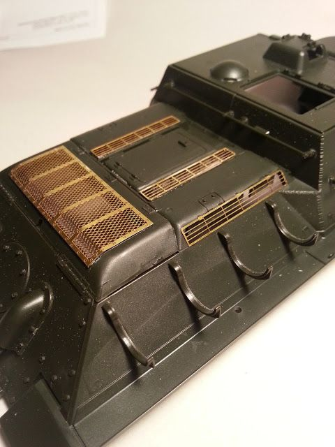 How to work with photoetch metal (photo etch brass) on your model tank.
