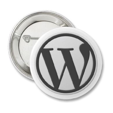 how to change button on wordpress website