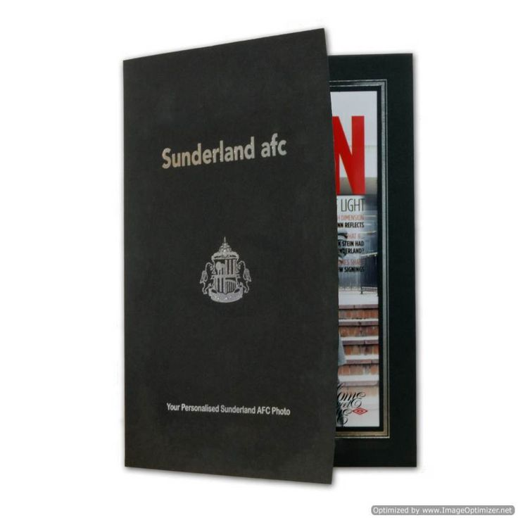 Personal Touch Gifts - Sunderland Magazine Cover Folder, £19.99 (http://personaltouchgifts.co.uk/sunderland-magazine-cover-folder/)