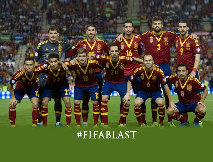 Spain: World Cup 2014 FIFA Team Preview @The Royale