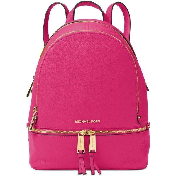 105db5b277c7 Michael Michael Kors Rhea Zip Medium Backpack ( 298) ❤ liked on Polyvore  featuring bags