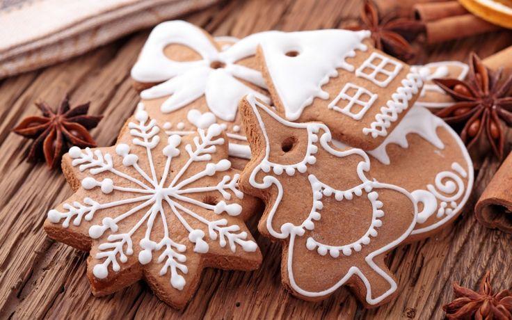 Имбирного печенья много не бывает! Традиционное новогоднее лакомство!.Готовить имбирную выпечку в Европе стали после того, как крестоносцы привезли из своих восточных походов различные пряности и специи.  Традиция печьпеченье с имбирембыстро распространялась, позже о…