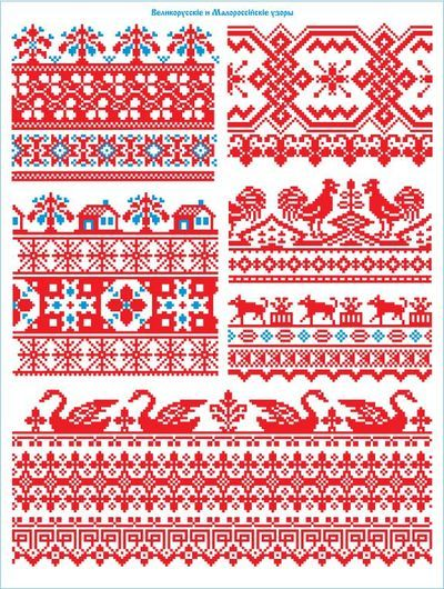 Pixel Patterns, Russian