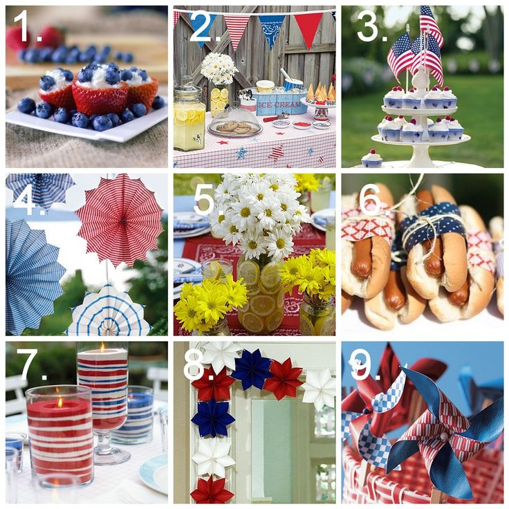 82 best memorial day ideas images on pinterest patriotic for Memorial day weekend ideas
