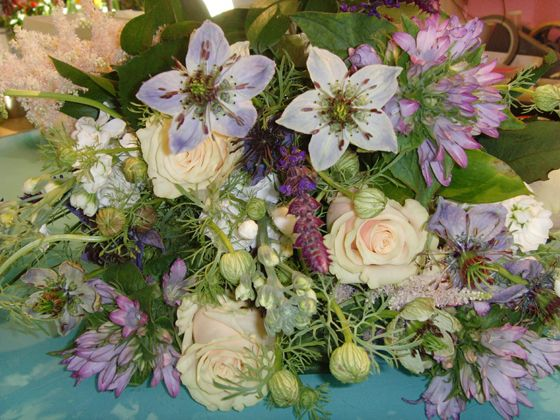 cottage garden bouquet