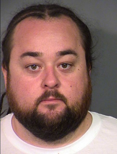 """Austin Lee Russell, 33, known as Chumlee to viewers of the reality cable TV show """"Pawn Stars,"""" was arrested Wednesday, March 9, 2016. Russell was being held in a Las Vegas jail following his arrest on weapon and multiple drug charges, after officers serving a warrant at his home in a sexual assault investigation found methamphetamine, marijuana and at least one gun. #austinrussell #chumlee #pawnstars #roboace #roboacescom"""