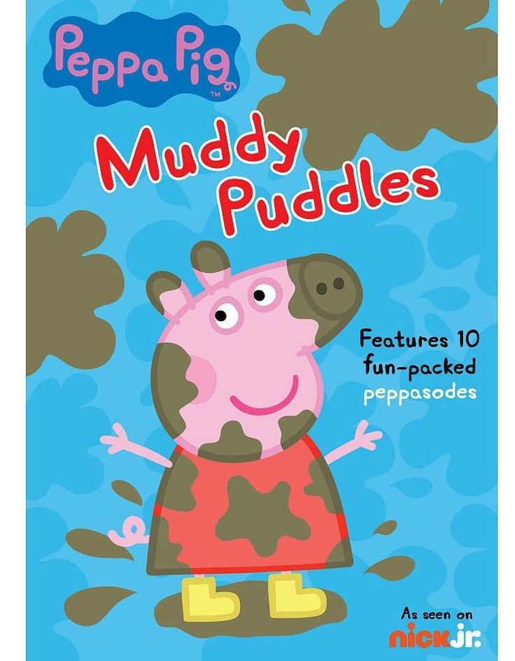 Peppa Pig Muddy Puddles DVD 2015 Features 10 Fun Packed Episodes New SEALED | eBay