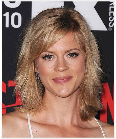 53+ Ideas Hair Cuts Fringe Face Shapes Shoulder Length