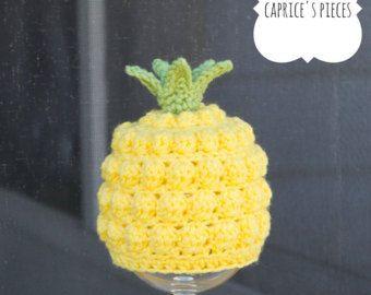Pineapple Hat Crochet Pattern