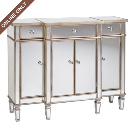 Stratton Mirrored Cabinet