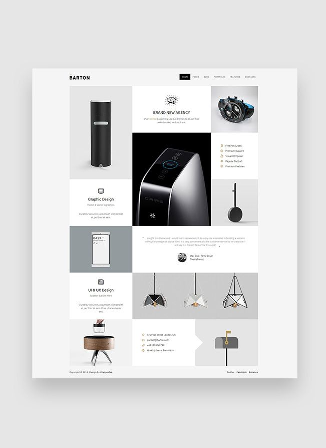 24 best WordPress Themes images on Pinterest | Wordpress template ...