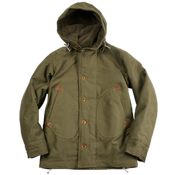 "COLIMBO ""DECK OFFICER'S OVER COAT""【OBSERVER PARKA】"