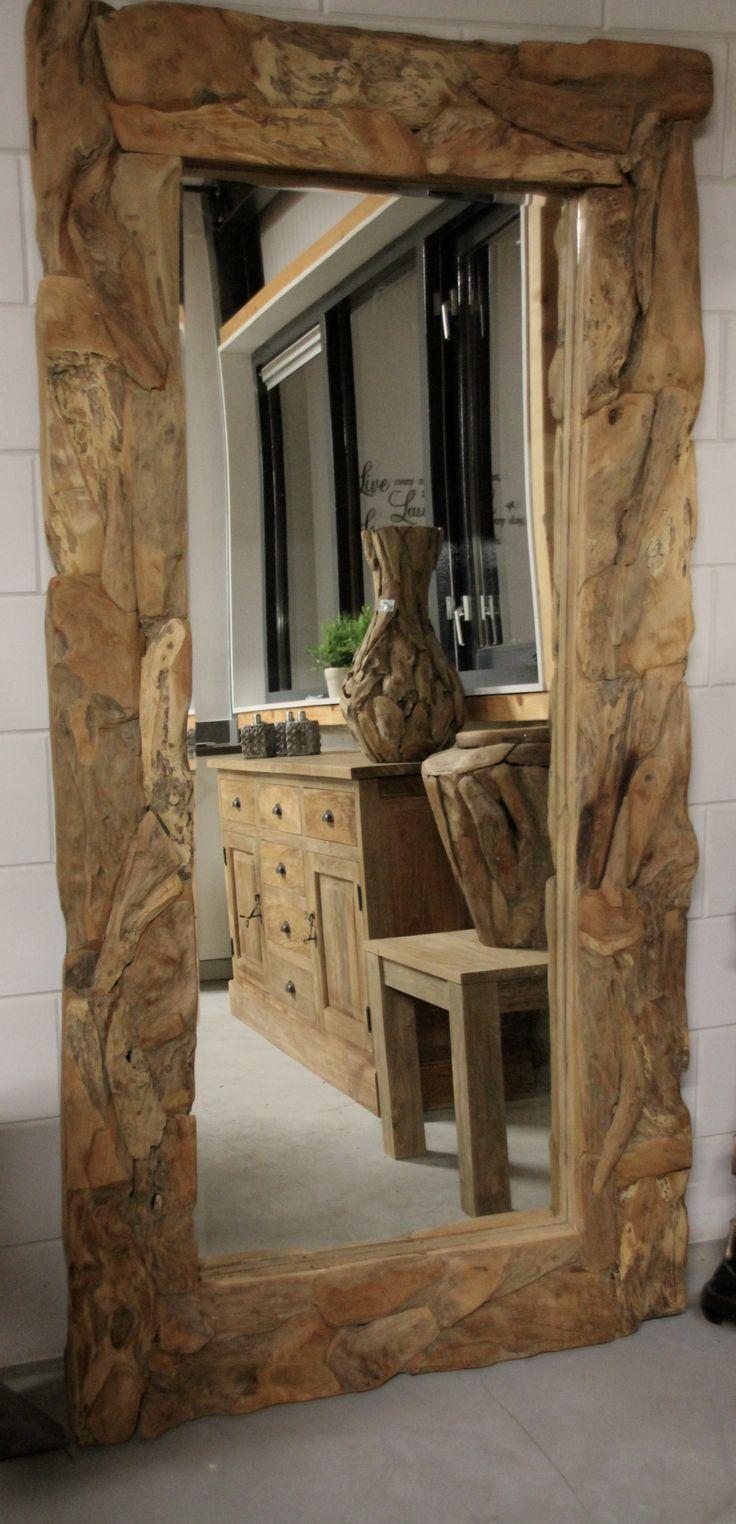 25 beste idee n over spiegel ophangen op pinterest kleine badkamer decoreren kleine halve - Spiegel voor ingang ...