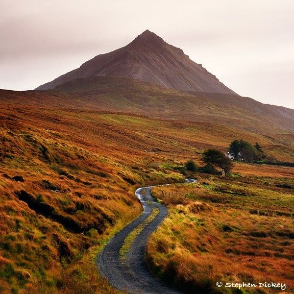 Mount Errigal, County Donegal, Northern Ireland - Northern Ireland Landscape Photographs