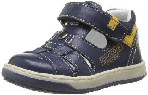Chicco Gin 1051455000000 – Zapatos de cuero para bebé niño, color azul, talla 18