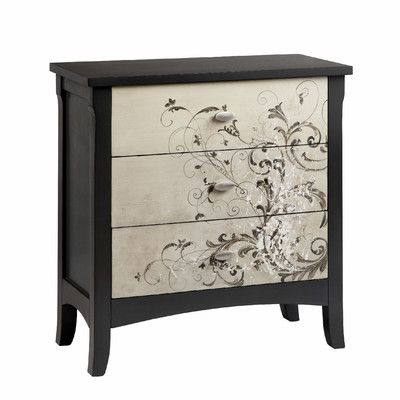 Colville Studios Graham 3 Drawer Chest & Reviews | Wayfair